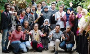 Fellows and Fasilitators of APJC Training (Photo courtesy of APJC)